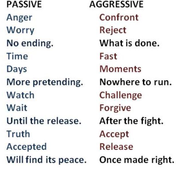 passive-agressive